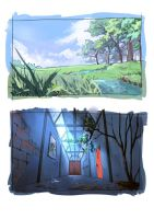 Background practice by yoeah