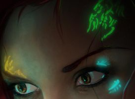 Aurora's Eyes - detail by para-vine