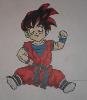 kid gohan by crowshot27
