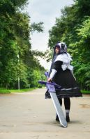 Walk away. Trinity Blood by alberti