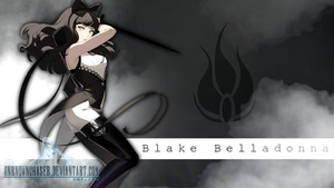 RWBY - Blake Wallpaper by UnknownChaser