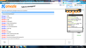 Omegle randomness by xRainbowScout