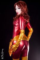 Dark Phoenix cosplay 04 by Kitty-Honey