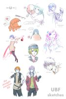 UBF sketches by NuX