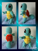 Squirtle Crochet by SonARTic