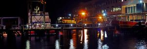 Victoria Clipper at night. by Mackingster