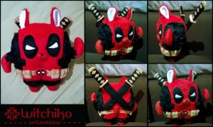 Alpaca Deadpool by Witchiko