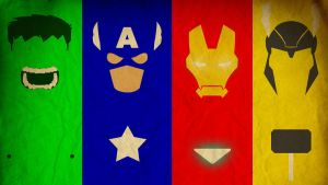 Avengers Assemble Wallpaper by tagadum