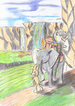 [Noodle(Taphen)] The Old Jeweler's falls by Taphen