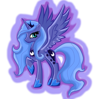 princess luna by blusxshadow12