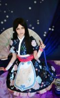 Alice madness returns cosplay (silk maiden) by NewmoondropCosplay