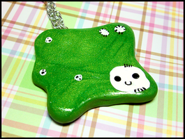 Amoeba Necklace by GrandmaThunderpants
