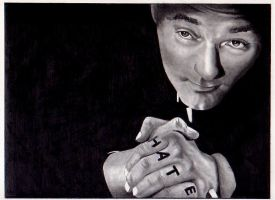 Robert Mitchum by depoi