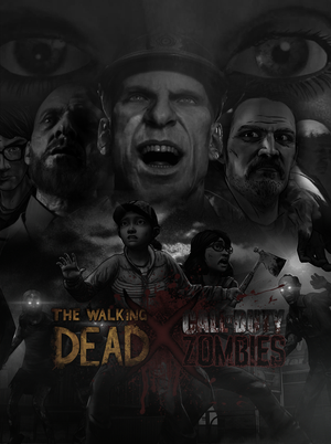 TWD X CoDZ (unofficial poster) by D0ct0rrR1cht0f3n
