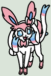 Worried Sylveon Base by SplashingBuizel