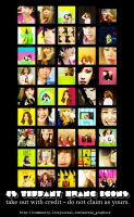 Tiffany Hwang icons pack. by Marnie95