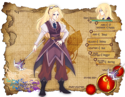Tales of Tomodachi: Claire by darkshia