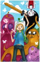 adventure time by demon-rae