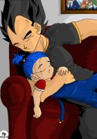Daddy's Teeny Princess by psychosaiyajin
