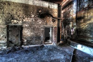 Burnt Out Factory by photorealm