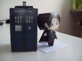 Doctor Who Paperdoll - Shalka by Rabenstolz
