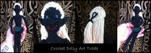 Crochet Dolly Art Trade by Siobhan68