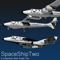 SpaceShipTwo by Emigepa