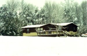 A Snowy East Tennessee Home by photowizard