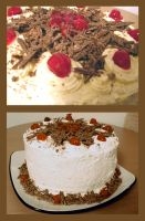 Black Forest Cake: Take 2 by bloookkkerschtufin