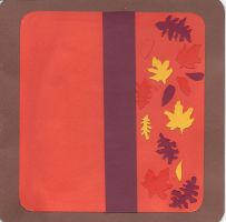 Fall Leaves Card by wandering-pen