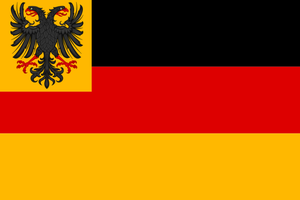 Greater German Empire war ensign by TiltschMaster