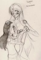 Ixbran and Xasandracs by cassie-chan55
