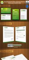 Green Research Center Corporate Identity by mindwilys