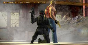 Death and Duke by Wesker500