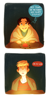 JeanMarco Week Day 4- Candlelight by Mogoliz
