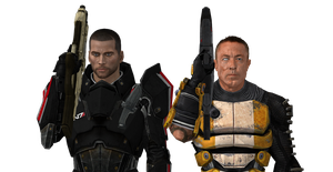 Mass Effect: Big Goddamn Heroes by Aceaviator