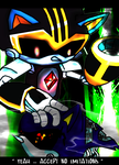 Shard vs Metal Sonic [#240 Tribute] by Phoenaxis