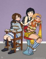 Yuffie's Final Fantasy by Yes-I-DiD