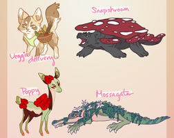 Collab Plant Adopts! [SOLD] by Saycha
