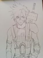 FFVII_Cloud Strife by Shinigamichick39