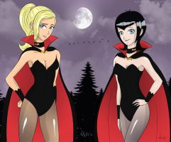 The dusk of new ladies vamps by razamatzu