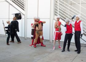 Persona Gathering  - Kanji and Akihiko by EriTesPhoto