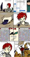 Gaara vs the root of all evil by MariahEchidna
