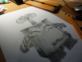 Wall-e by Ecued