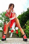 Mai Shiranui beautiful ninja by Giorgiacosplay