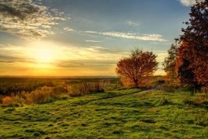 Autumn Sunset by hans64-kjz