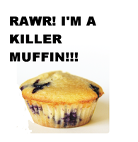 Killer Muffin by RizzotheRat1131