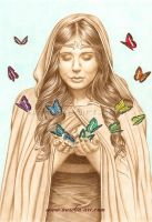 The Butterfly Girl by aurelia-acc