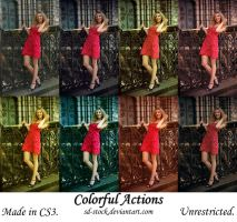 Colorful Actions by sd-stock
