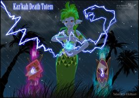 Kazkah Death Totem by RukiFox